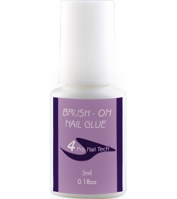 4Pro Nail Tech Brush-On Nail Glue 0.18oz