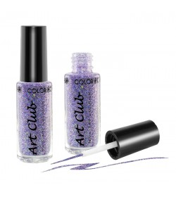 Art Club Nail Lacquer 1/4oz.  Lilac Hologram