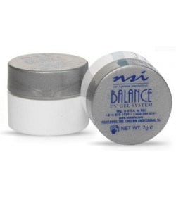 2x NSI Balance Color Gel X-treme White 0.25oz