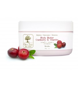 Olive Tree Spa Clinic Body Butter 7oz - Cranberry & Vitamins