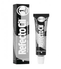 RefectoCil Bleaching Paste for Eyebrows 15ml - 1.0 Pure Black