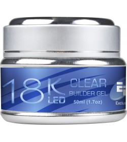 EFexclusive 18K LED Gel 50ml - Clear Builder