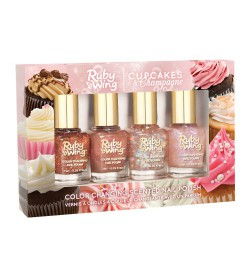 Ruby Wing Cupckes&Champagne Scented Collection 4pcs.