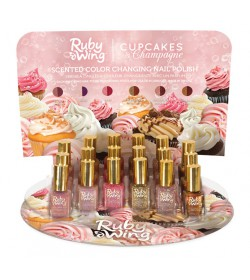 Ruby Wing Cupckes&Champagne Scented Collection 18pcs.