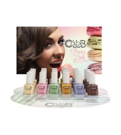 Color Club Paris In Love Collection 18 pcs. Display