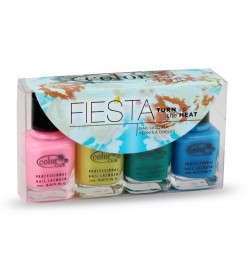 Color Club Fiesta Mini Collection no 2 - 4 pcs