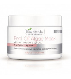 Bielenda EYE LIFT Program Peel-off Algae Mask with rose petals for the eye area 90g