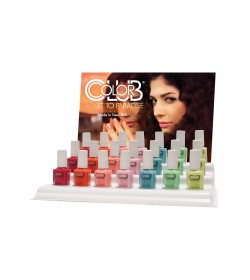Color Club Nail Lacquer Ticket To Paradise Collection 21pcs (+21pcs refill)