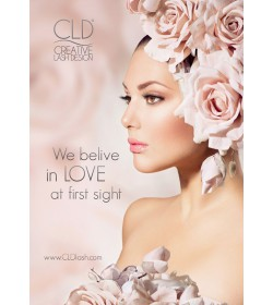 "CLD Salon Poster ""We believe in LOVE at first sight"""