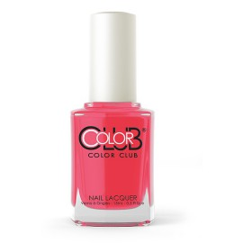 Color Club Nail Lacquer 0.6oz - All over pink