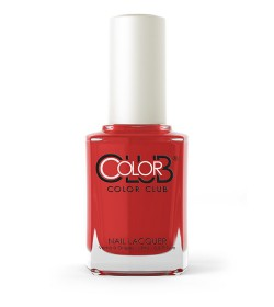 Color Club Nail Lacquer 0.6oz - Cadillac Red