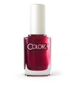 Color Club Nail Lacquer Untamed Luxury Collection 15ml - Resort to Red