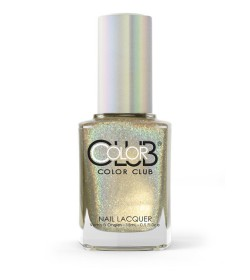 Color Club Halo Hues Collection Nail Lacquer 0.5oz  - Star Light, Star Bright