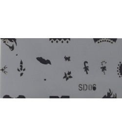 Szablon do pistoletu Airbrush Stencil SD06