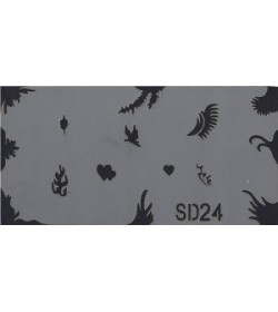 Szablon do pistoletu Airbrush Stencil SD24
