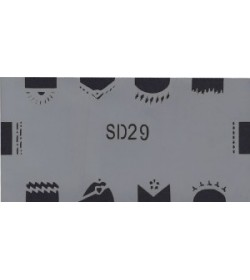 Szablon do pistoletu Airbrush Stencil SD29
